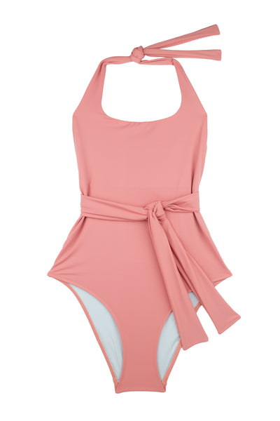 Puzzle Swimsuit | Blush