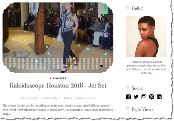 AuthenticallyB.com - Kaleidoscope Houston 2016 | Jet Set, Steve Guthrie Runway
