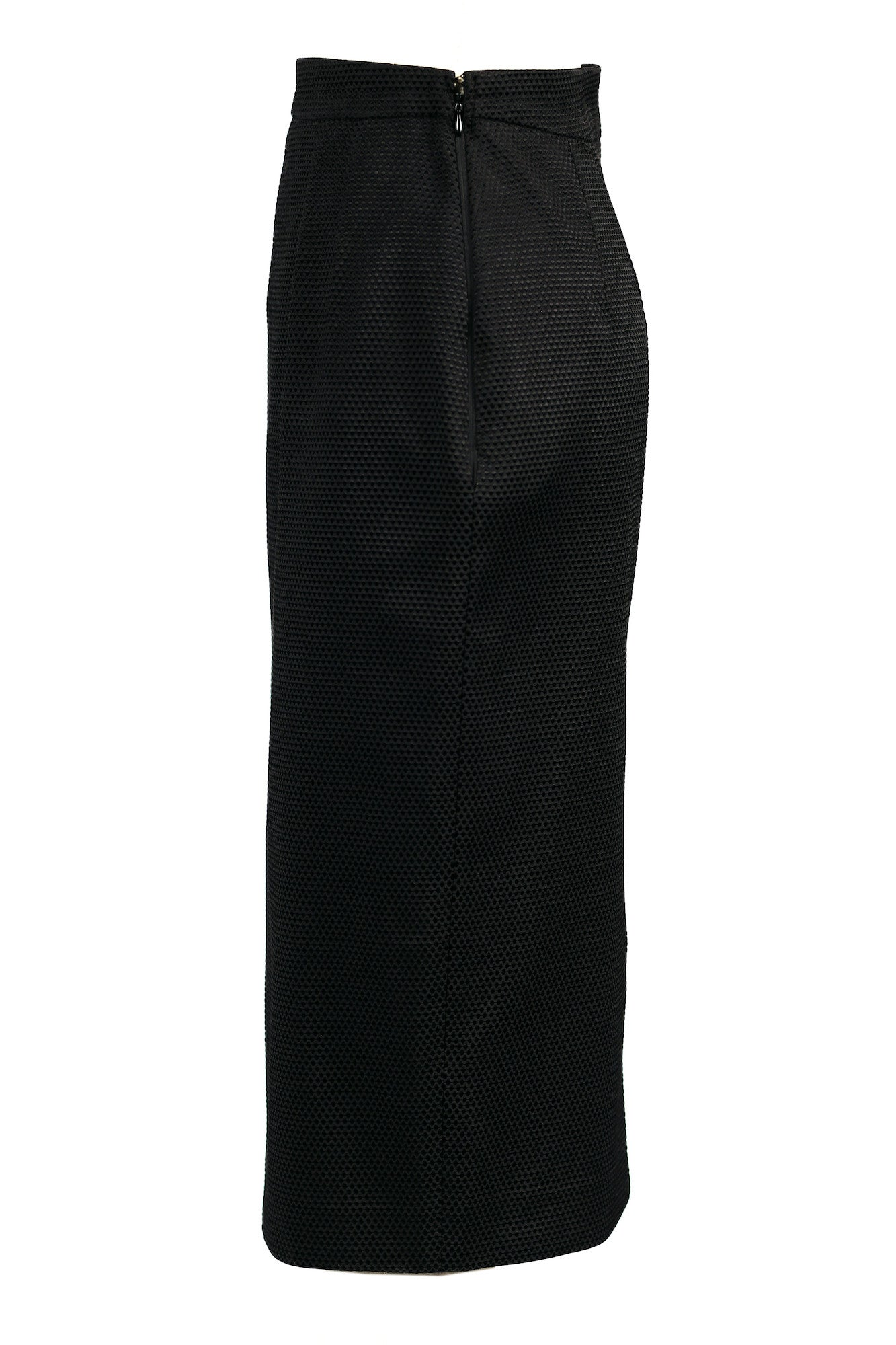 Textured High-waisted Pencil Skirt for All Seasons - Steve Guthrie - 6