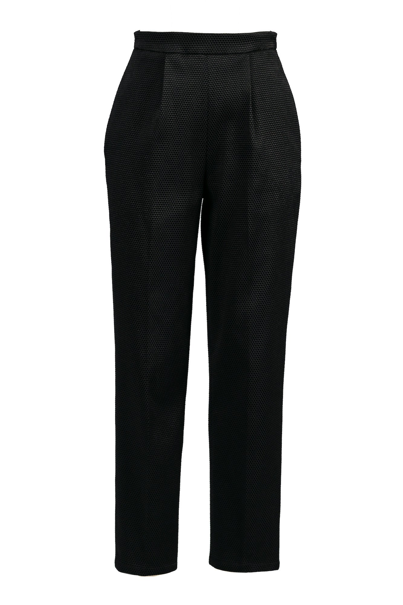 Hight-waisted, Pleated Cigarette Pants for All Seasons - Steve Guthrie - 3