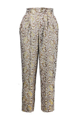 Hight-waisted, Pleated Cigarette Pants for All Seasons - Steve Guthrie - 5