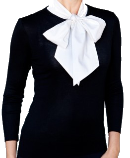 SkinnyShirt Pussy Bow Collared Sleeveless Shirt - Steve Guthrie - 7