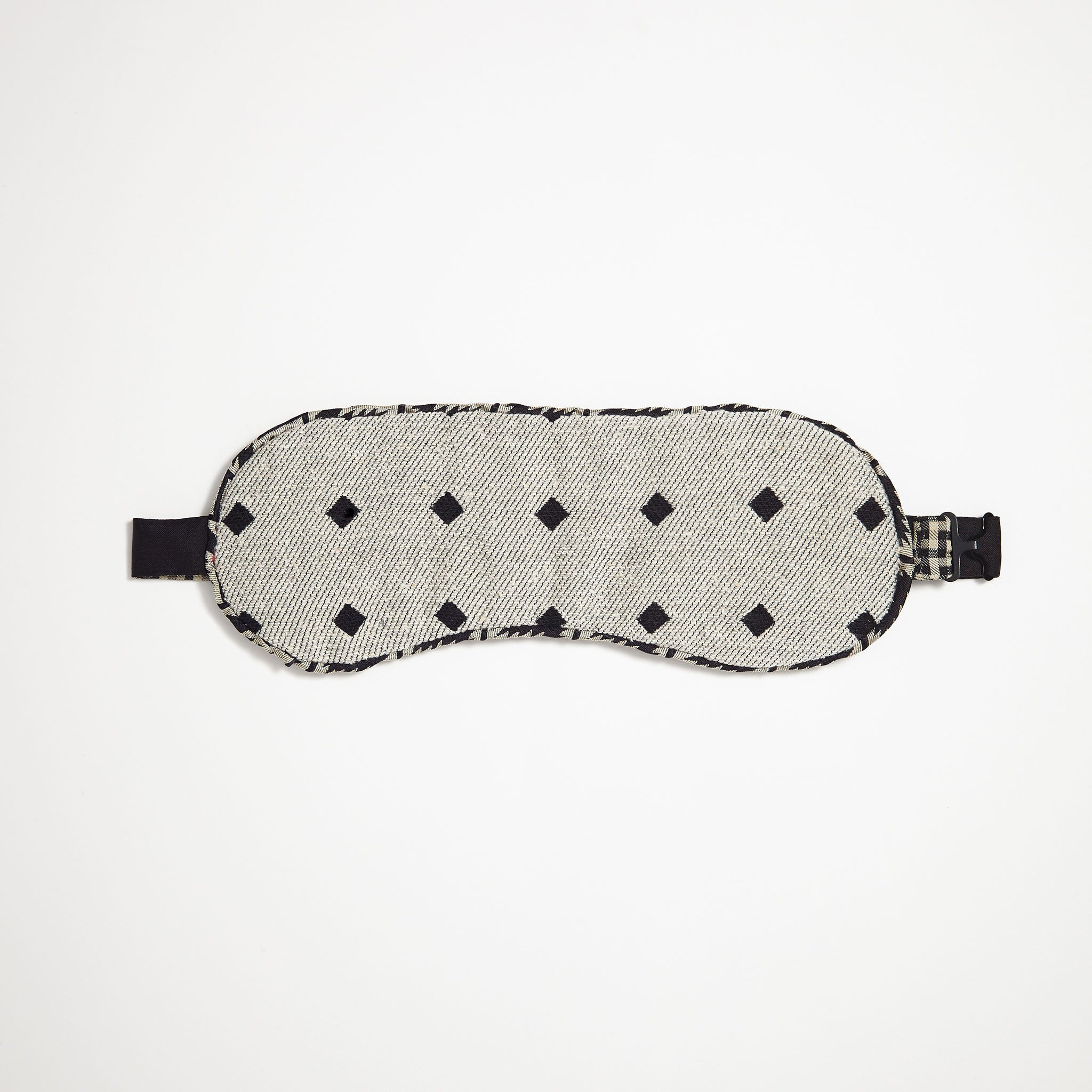Fallen Diamond Woven Eye Mask