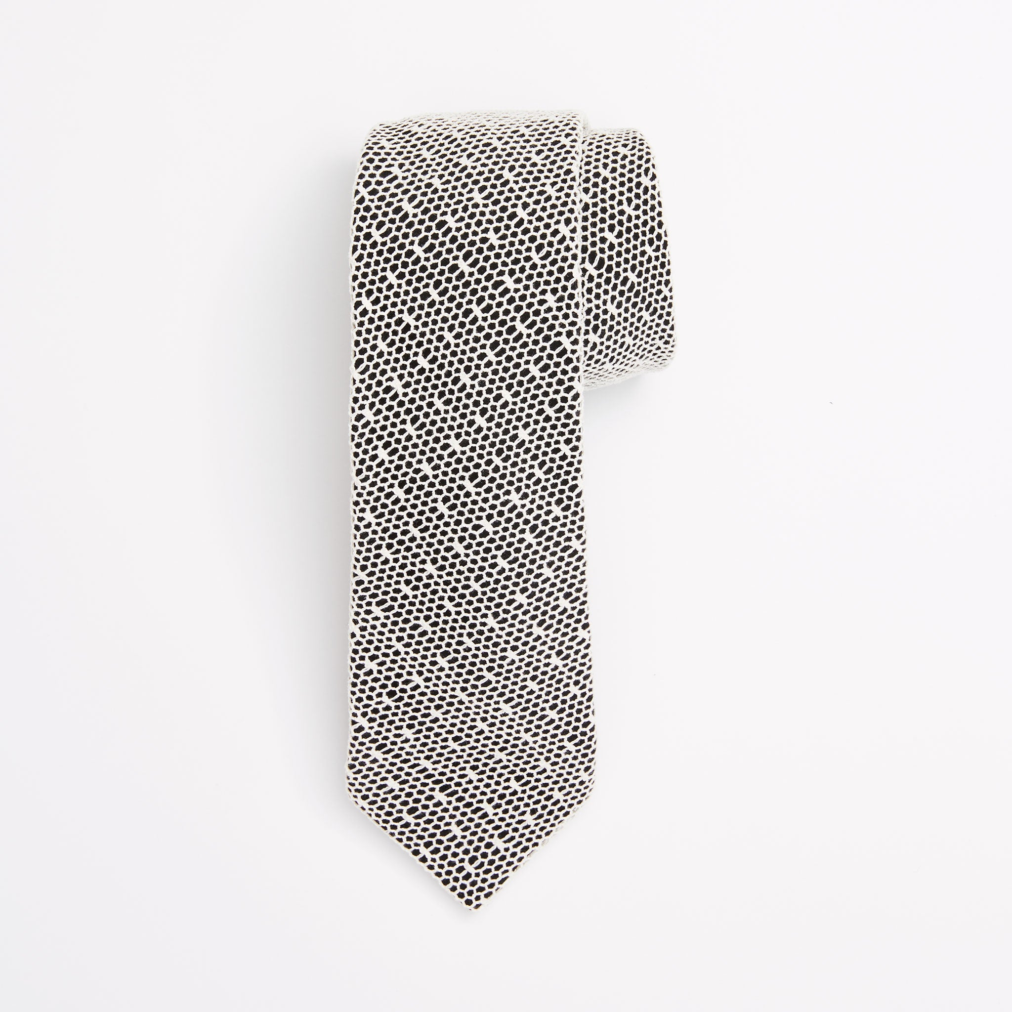Gift Set - Mesh Lace Tie & Staircase Pocket Square