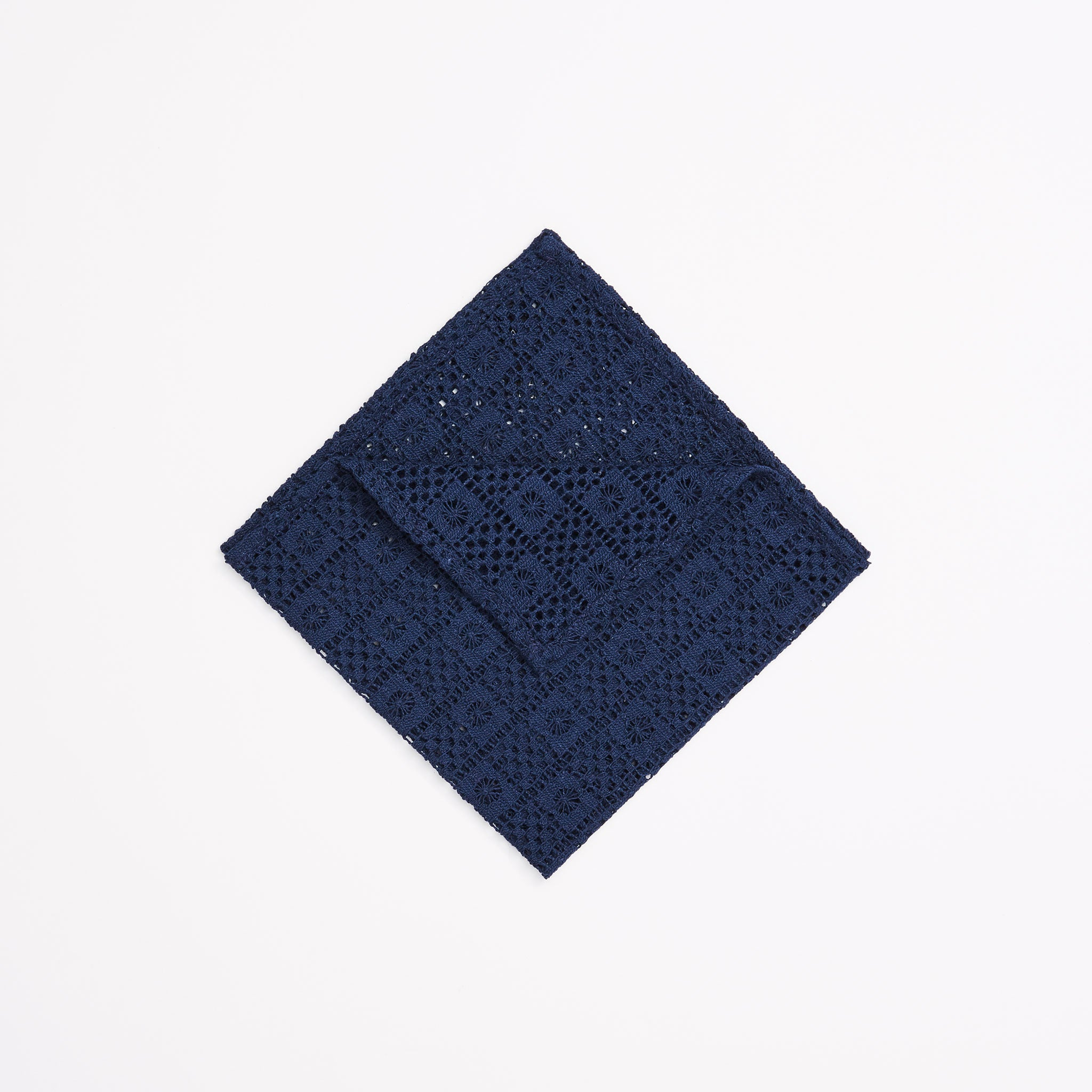 Square Knot Lace Pocket Square