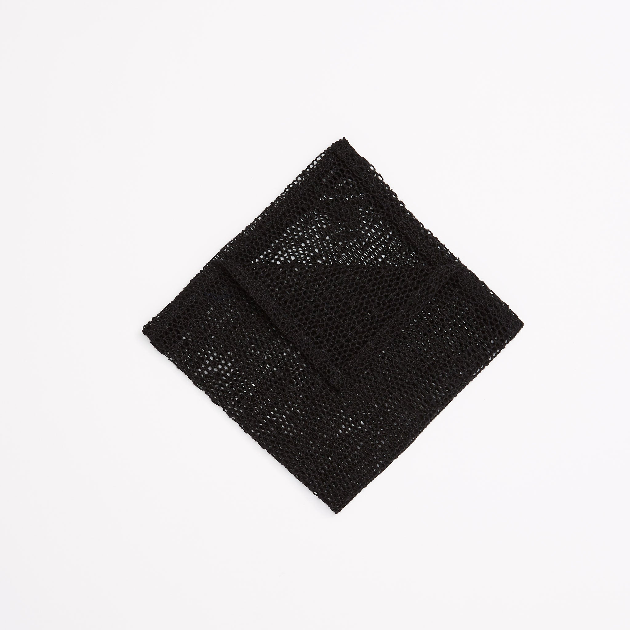 Mesh Lace Pocket Square