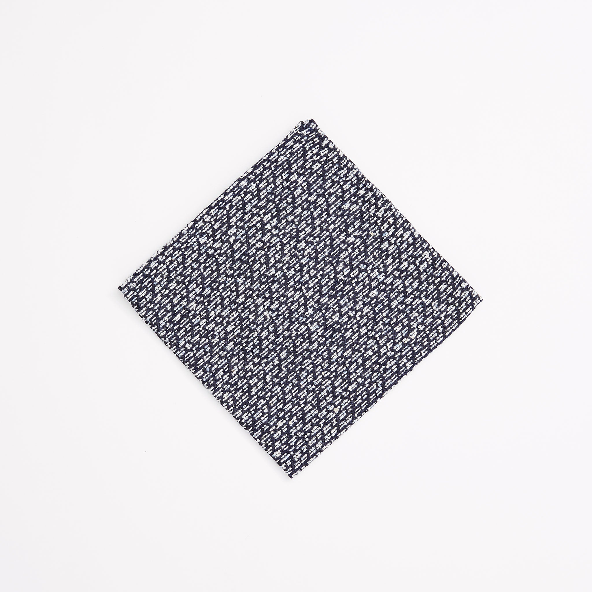Slub Fleck Pocket Square