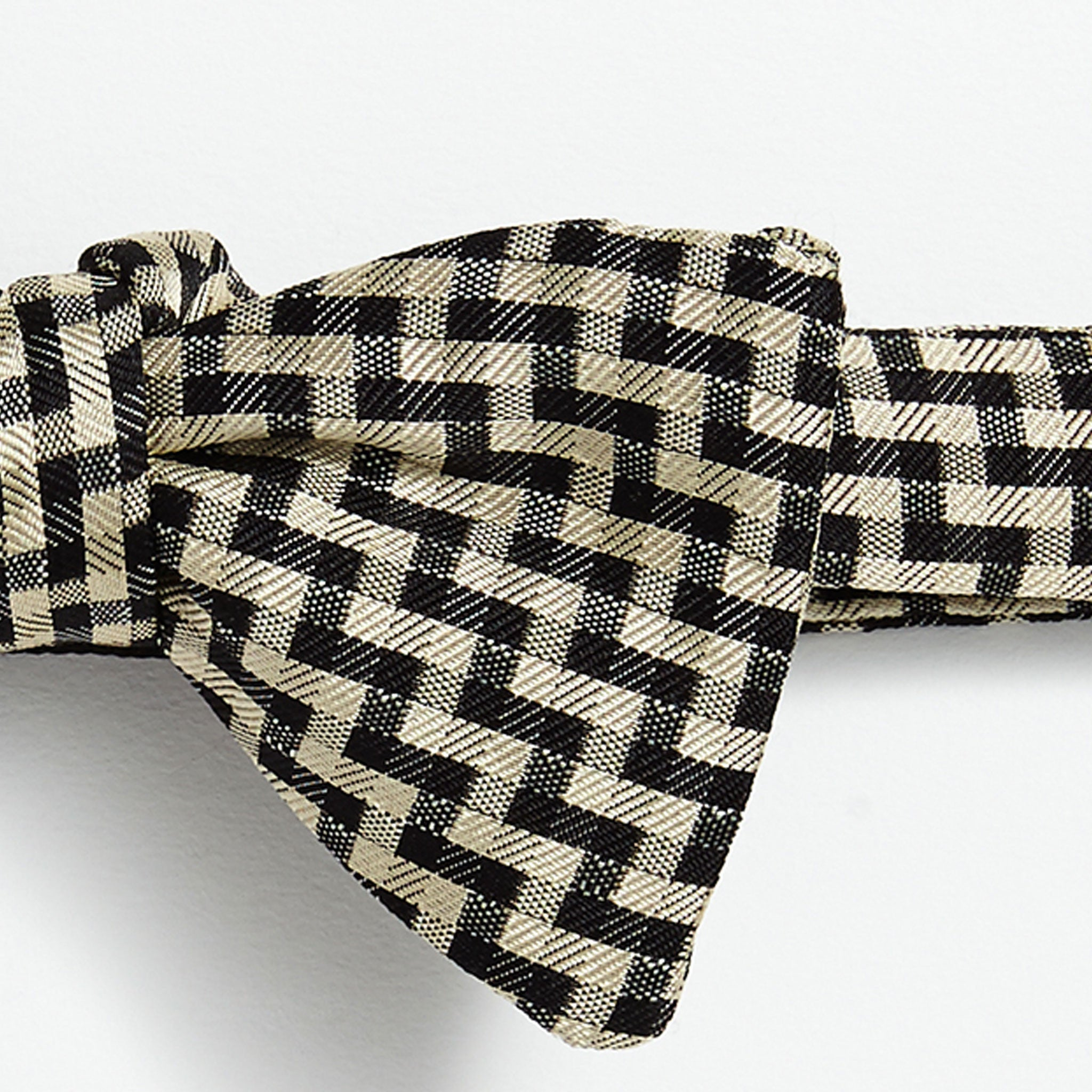 Staircase Silk Self-Tie Bow Tie