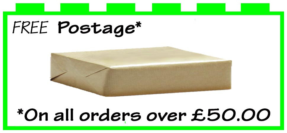 Free Postage on orders over £50.00