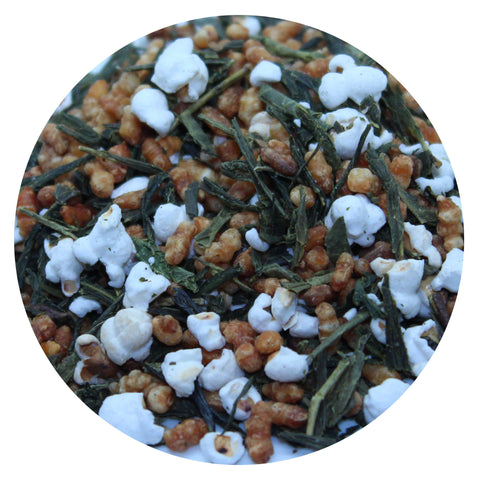 No.24 | Green Tea Blend | Sencha Popcorn Tea