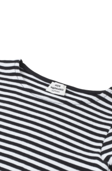 Soft Stripe Darling, Black/White