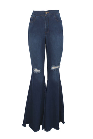 Roaso Casual Broken Holes  Jeans