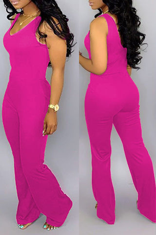 Roaso Casual One-piece Jumpsuit