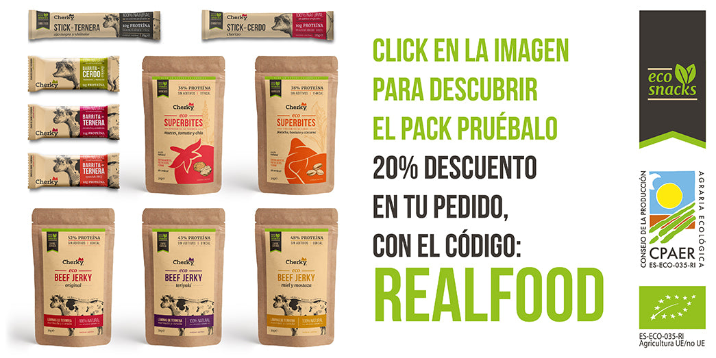 CHERKY SNACKS REALFOOD