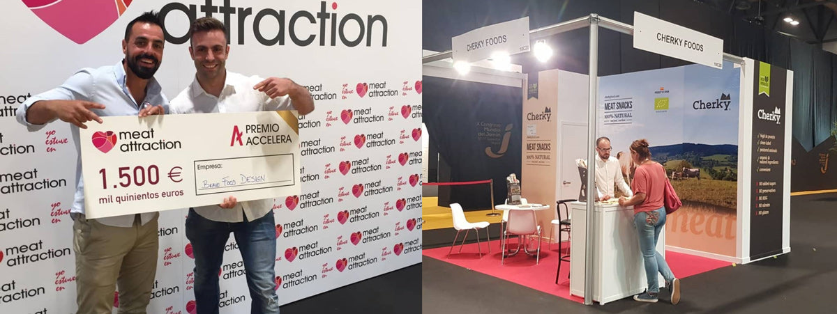 Cherky gana premio innovación meat attraction