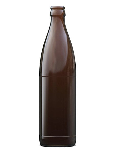 500ml - Vichy Amber Beer Bottle