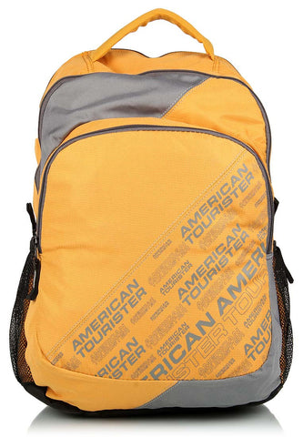 Yellow College Backpack