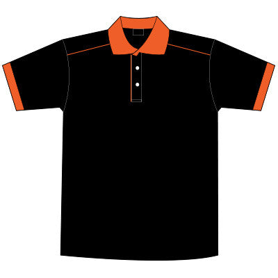 Orange Dark T-Shirt