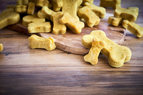 Pumpkin Dog Biscuits