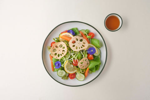 Mixed Salad with Lemon Dressing