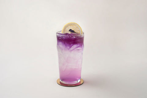 Blue Pea Lime Soda