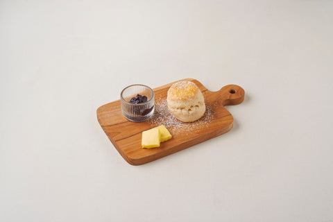 Butter Scone with Mix Berry Jam