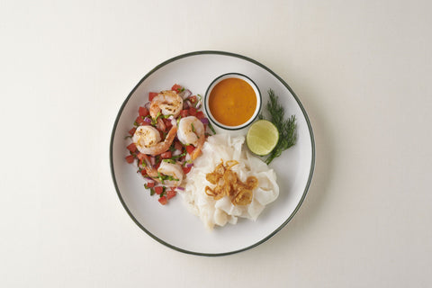 Ayutthaya Noodle - Shrimp Salsa With Homemade Tomyum Sauce ( Spicy )