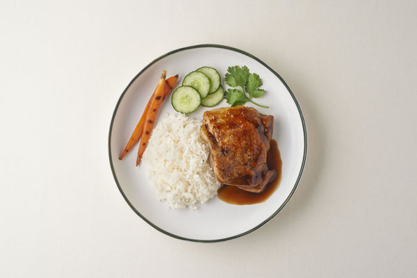 Rice With Cripsy Chicken & Homemade Teriyaki Sauce