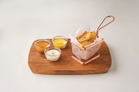 Home Fries With Dipping Sauces