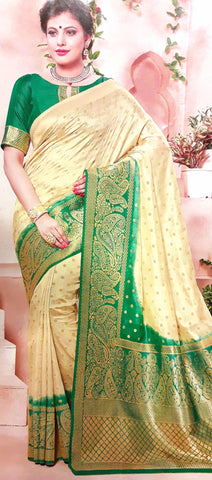 11A. A-Raw silk saree ALB 05