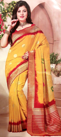 11A. A-Raw silk saree ALB 02