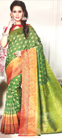 11A. A-Raw silk saree ALB 03