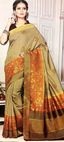 11A. A-Raw silk saree ALB 04