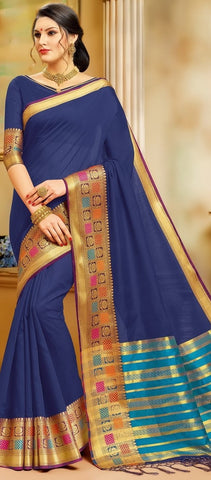 11A. A-Cotton saree BHB 89923