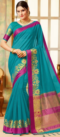 11A. B-Cotton saree BHB 89929