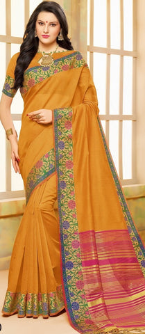 11A. A-Cotton saree BHB 89930
