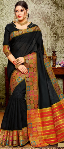 11A. A-Cotton saree BHB 89931