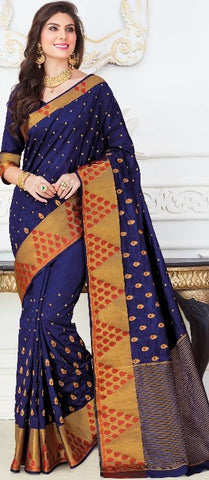 11B. A-Raw silk saree USN 233