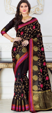11A. A-Raw silk saree USN 248