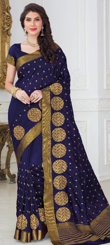 11A. A-Raw silk saree USN 250