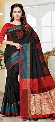 11A. A-Raw silk saree HSK