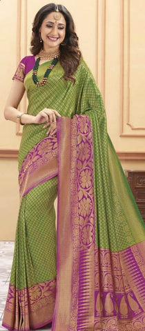 11A. A-SOFT SILK SAREE RSY 151