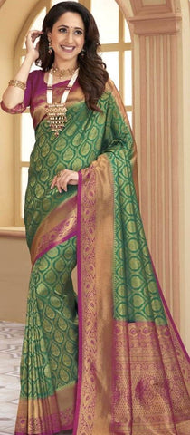 11A. A-SOFT SILK SAREE RSY 202
