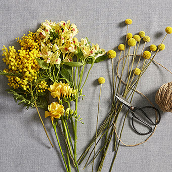 Falkland - Florist Choice Yellow Flowers Handtied