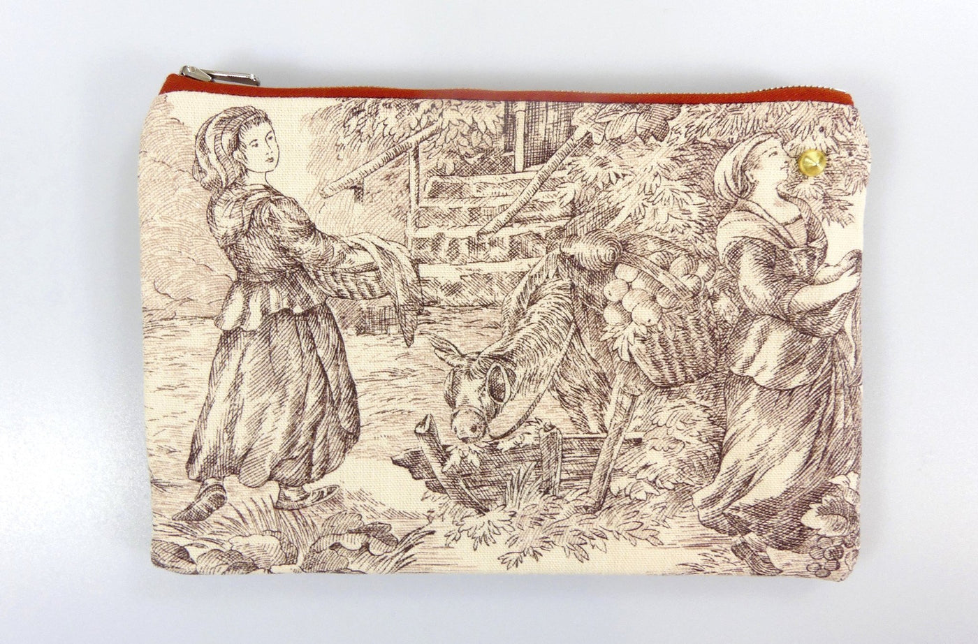 Pochette Toile de Jouy - The Ladies