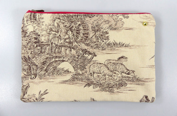 Pochette Toile de Jouy - The Pastoral Mill