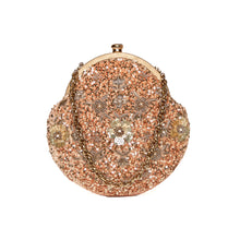Load image into Gallery viewer, Pixie Dust Vintage Clutch Caramel