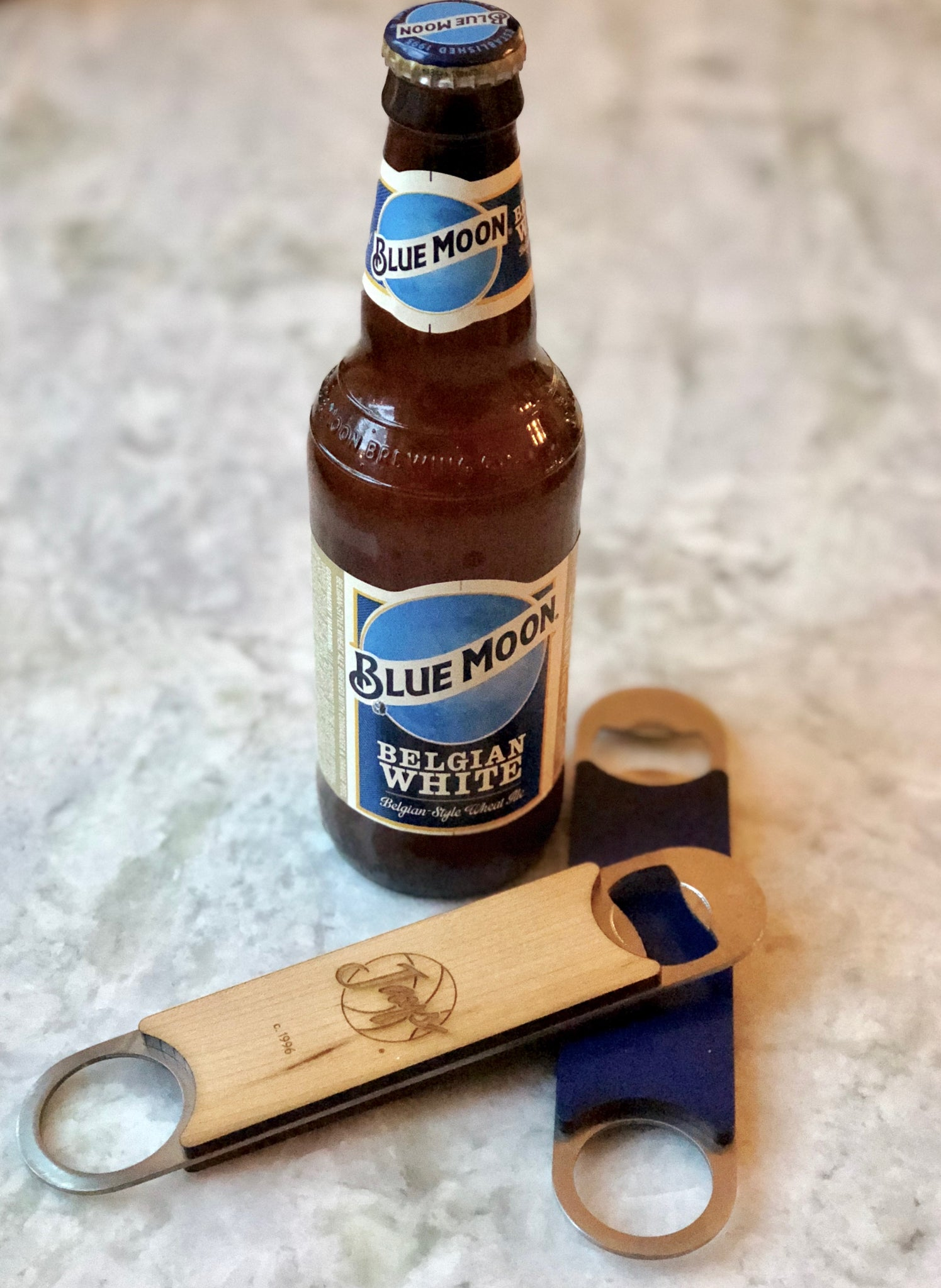 Creighton Gym Floor Bottle Opener