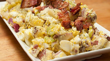 Bacon Potato Salad | Kissed by the Sun