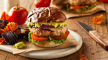 Spicy Turkey Burger | Kissed by the Sun